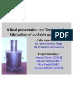 A Final Presentation On