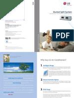 LG Ducted Split System Brochure 2009