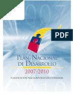 Plan Nacional de Desarrollo Ecuador