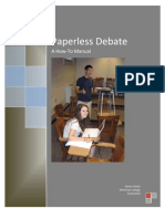 Paperless Debate Manual