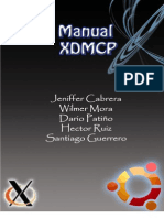 Manual Connfiguracion Del Servicio Xdmcp