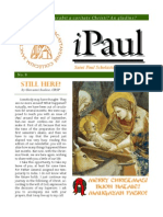 iPaul no 8 - Saint Paul Scholasticate Newsletter