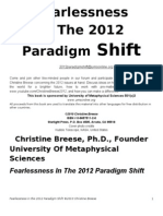 Fearlessness in the 2012 Paradigm Shift - Christine Breese - 2nd Ed.