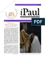 iPaul no. 4 - Saint Paul Scholasticate Newsletter