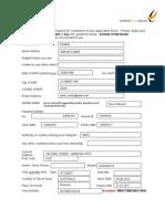 Client Application Details
