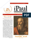 iPaul no. 7 - Saint Paul Scholasticate Newsletter