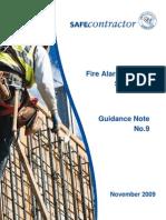 9.Fire Alarm Method Statement GN9 (V2) Nov09