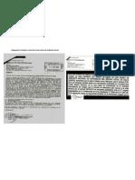 Respuesta a Carta de CG Por Parte de directiva del Sindicato Actual