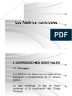 arbitrios municipales