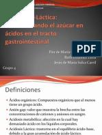 D Lactic Acidosis
