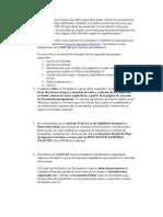 Requisitos ONCAE