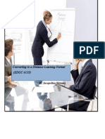 Converting to a Distance Learning Format