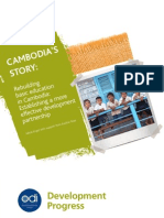 ODI - Cambodia Education - Summary Case Study
