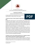 Decreto-Lei que aprova os Planos Curriculares de Implementação do Currículo do Ensino Básico