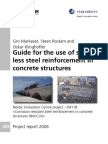 Guideline for Stainless Steel Reinforcement