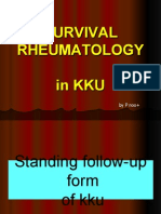 Survival Rheu5 in Kku