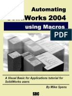 Automating Solid Works 2004 With Macros