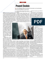 Zehn Prozent Einstein - Der Spiegel 41/2009