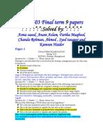 mgt503 final term paper 2013