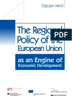 The Regional Policy of the European Union as an Engine of Economic Development