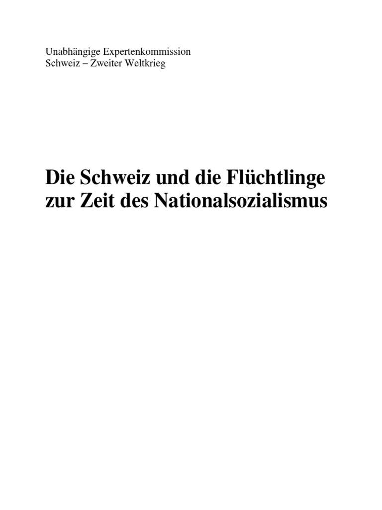 BergierBericht-Die Schweiz und die Flüchtlinge zur Zeit des ...