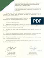MOU of ILO and Govt 2011-12 (English)