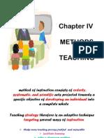 IV- Methods of Teaching
