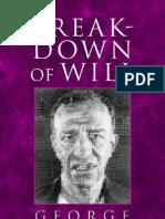 Breakdown of Will George Ainslie