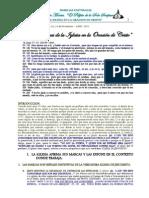 La 4 Marcas de La Iglesia en La Oracion de Cristo