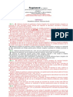 Regulament Privind Atribuirea Dreptului de Gestionare a Faunei Cinegetice - Versiune Actualizata Prin Ord. 2265 Din 16.12