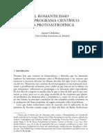 Javier Ordoñez Ciencia y Romanticismo