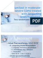 Roflumilast in Moderate-To-severe COPD Treated With Long Acting Broncho Dilators