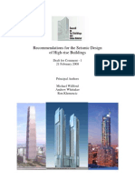 Recommendations for the Seismic Design of High Rise Buildings