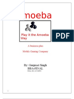Mobile Gaming Venture(Business Plan)