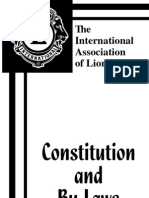 International Constitution of Association of Lions Clubs