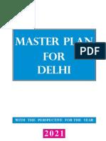 Master Plan for Delhi 2021