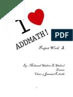 57580276 Additional Mathematics 2011 Project Work 2