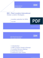 Introduction IBM PLI-Global Location Strategies for SSCs