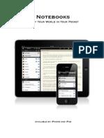 Notebooks Manual