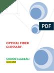 FIBER OPTICAL GLOSSARY