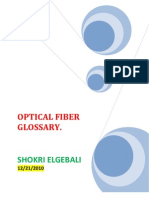 FIBER OPTICAL GLOSSARY