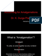 Accounting for Amalgamations