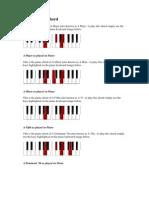 A Maj Piano Chord