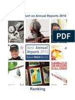 Annual Report on Annual Reports 2010 Ranking