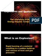 Explosives and Explosions Revised
