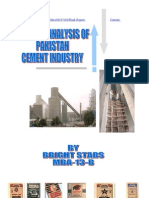 14556512 Critical Analysis of Pakistan Cement Industry