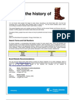 Pf_ie_what is the History of Shoes