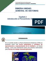Teoria General de Sistemas Capitulo I ( Universidad Nacional de Moquegua )