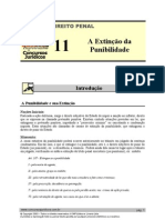 PEN 11 - A Extinção da Punibilidade