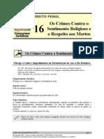PEN 16 - Os Crimes Contra o to Religioso